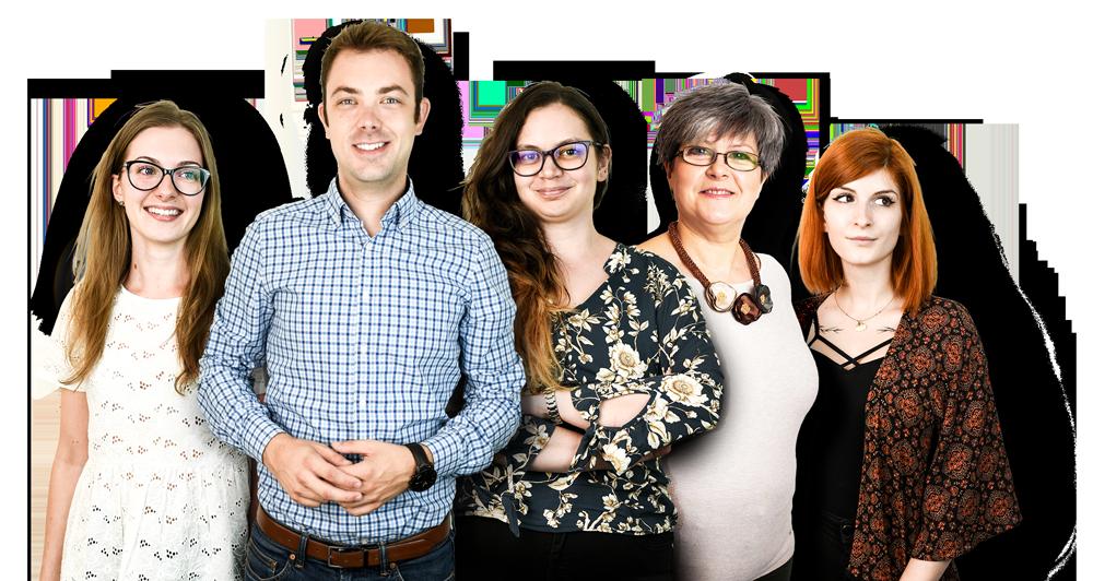 A Blureen marketing és piackutatás csapata